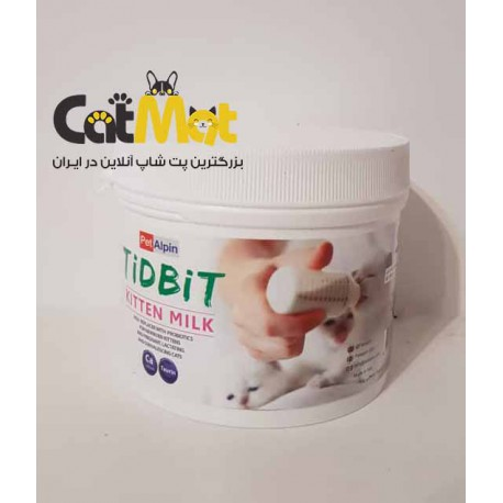 شیرخشک مخضوض گربه 300 گرمی Tidbit