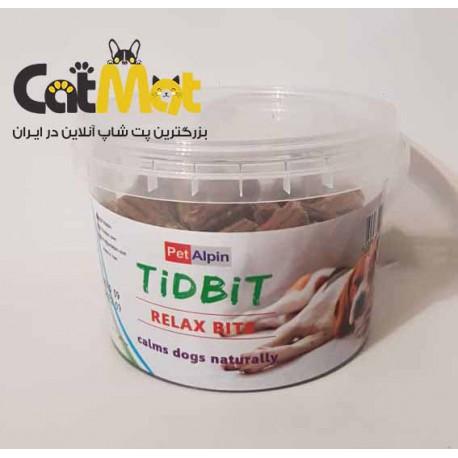 تشویقی سطلی مخصوص سگ ریلکس Tidbit