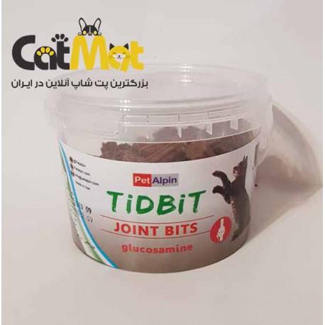 مکمل تشویقی بهبود مفاصل مخصوص گربه Tidbit