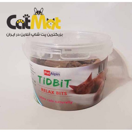 تشویقی تکه ای آرامبخش مخصوص گربه Tidbit