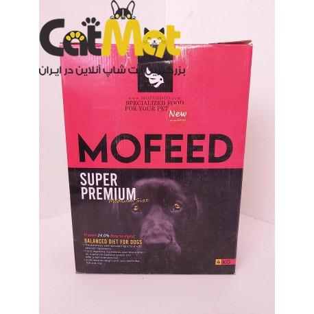 غذا خشک سوپر پرمیوم نژاد بزرگ سگ 4کیلو مفید