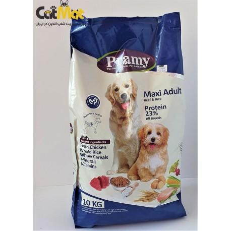 غذا خشک پرامی سگ بالغ نژاد بزرگ با طعم گوشت مرغ و برنج 10kg