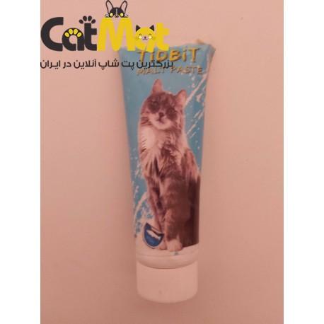 خمیر مالت گربه با طعم ماهی tidbit