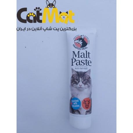 خمیر مالت گربه با طعم گوساله هاپومیل