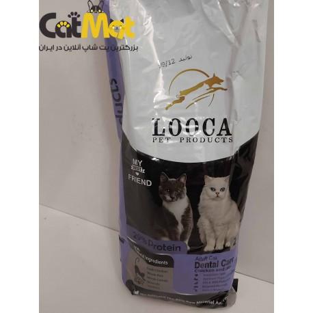 غذا خشک گربه دنتال لوکا 2 کیلویی مرغ و برنج