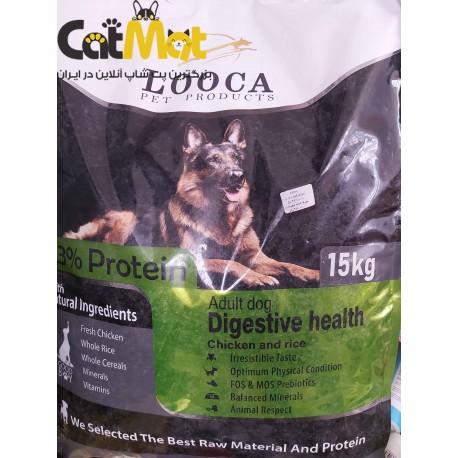 غذا خشک سگ درمانی گوارش لوکا 20 کیلویی مرغ و برنج