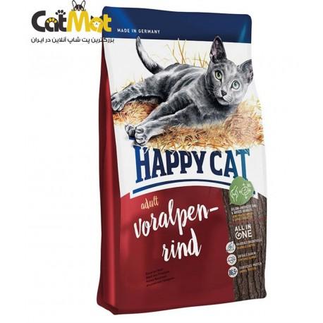 غذای خشک گربه هپی حاوی گوشت بره 1400 گرمی indoor