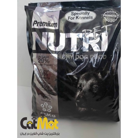 غذا خشک پرورشی سگ بالغ نوتری 15 کیلویی