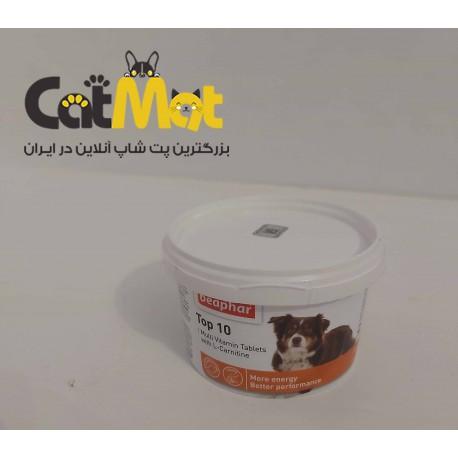 قرص ویتامین تاپ تن مخصوص سگ برند بیفار 180 عددی