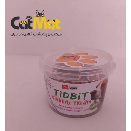 تشویقی سطلی دیابتی سگ tidbit