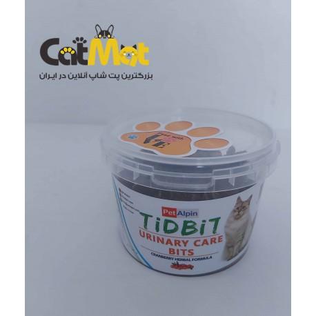 تشویقی سطلی سلامت کلیه و مجاری ادراری مخصوص گربه tidbit