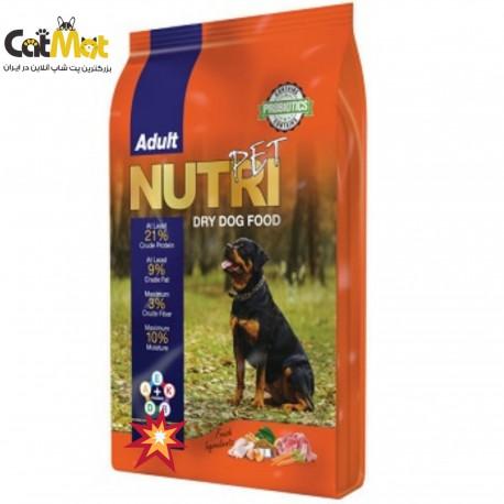 غذا نوتری سگ 21% پروتئین 15 کیلویی