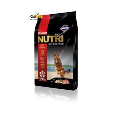 غذای خشک نوتری پریمیوم سگ بالغ با پروتیین 1.5kg