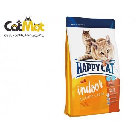غذای خشک گربه هپی 1400g indoor atlantic