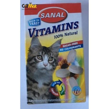 قرص مخمر گربه به همراه ویتامین 50g