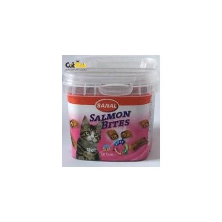 خوراک کاسه ای گربه حاوی سالمون به همراه امگا3 برای سلامت قلب رگ 75گرم