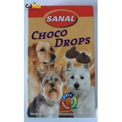 شکلات کاکائویی قطره ای sanal شکل سگ به همراه ویتامین 125گرم