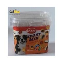 تشویقی کاسه ای sanal برای سگ های فعال با طعم گوشت مرغ و گوساله 100گرم