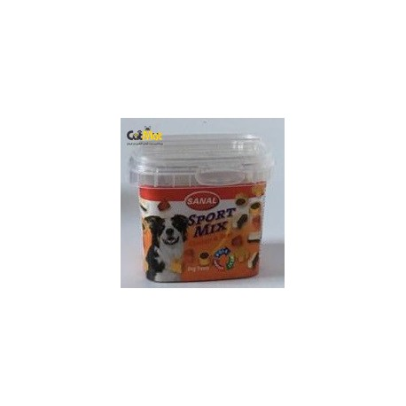 خوراک کاسه ای برای سگ های فعال با طعم گوشت مرغ و گوساله 100گرم