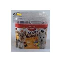 تشویقی استخوانی کاسه ای sanal سگ های نژاد کوچک 100گرم