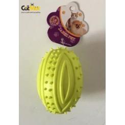 اسباب بازی دندانی نارنجکی سوتک دار 9 سانتی
