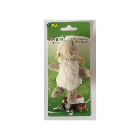 اسباب بازی پارچه ای به شکل گوسفند دارای سوتک 12 سانتی
