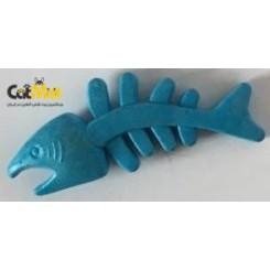 اسباب بازی دندانی سگ طرح ماهی