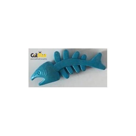 اساب بازی دندانی سگ طرح ماهی