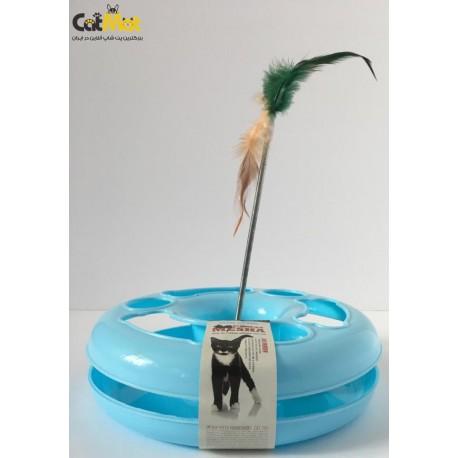 اسباب بازی چرحشی همراه با توپ و پر
