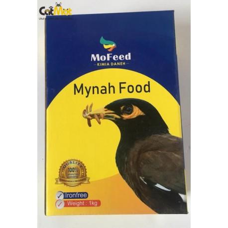 غذای مرغ مینا مفید سفارشی کیمیا 1kg