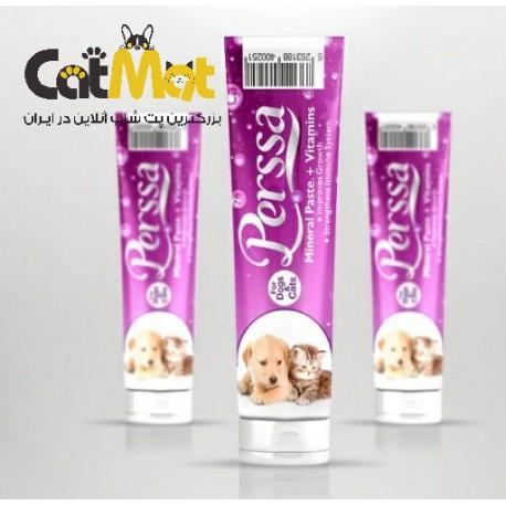 خمیر مینرال مولتی ویتامین مخصوص سگ و گربه پرسا