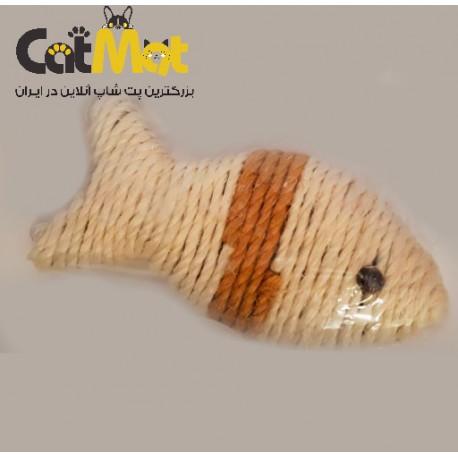 اسباب بازی(اسکرچر)گربه طرح ماهی