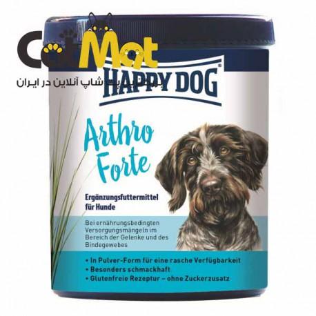 مکمل هپی داگ برای سگ مخصوص سلامت و مراقبت از بافت های مفصلی 200 گرمی