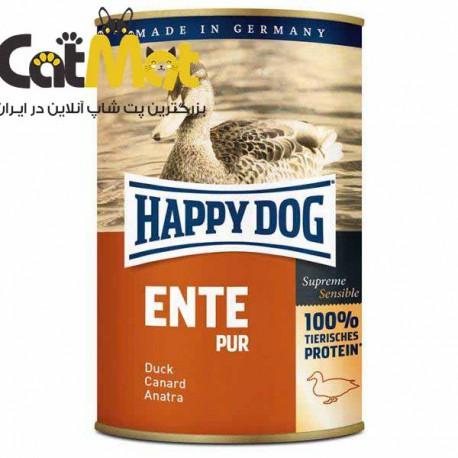کنسرو سگ هپی داگ Happy Dog مدل Duck وزن 0.8 کیلوگرم