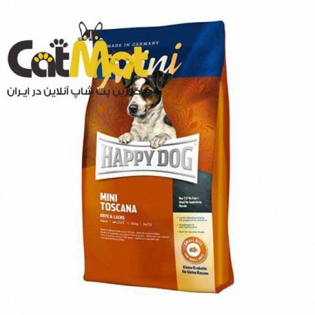 غذای خشک سگ هپی داگ Happy dog مدل Mini Toscana وزن 1 کیلوگرم