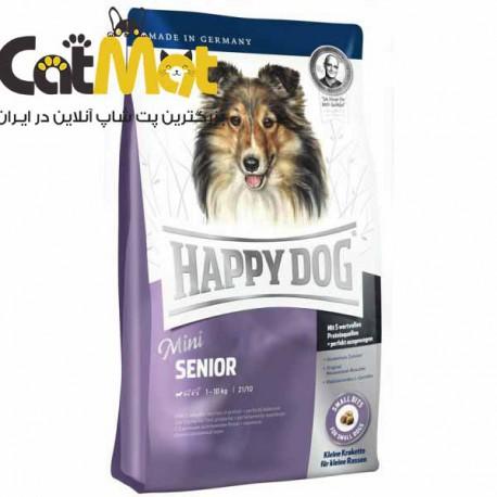 غذای خشک سگ هپی داگ Happy Dog مدل Mini Senior وزن 1 کیلوگرم
