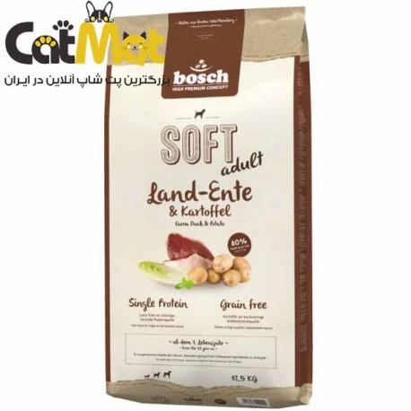 غذای نرم سگ بوش Bosch مدل Farm Duck & Potato وزن 125 گرم