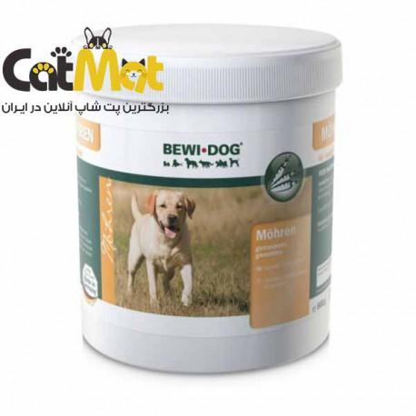 پودر مکمل غذایی سگ بوی داگ Bewi Dog مدل Carrots وزن 800 گرم