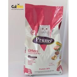 غذای بچه گربه پرامی kitten 10 kg