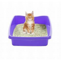 لوازم توالت(پد زیرانداز-ظرف-بیلچه-پمپرز و خاک گربه)